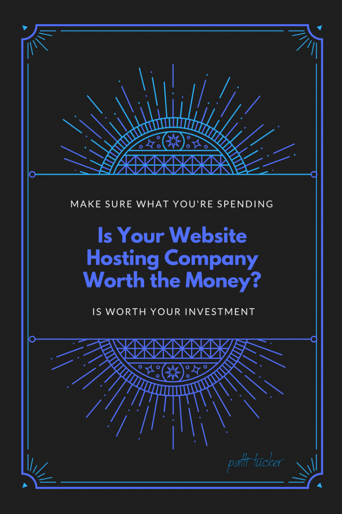 Is Your Website Hosting Company Worth the Money